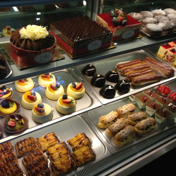 Photo taken at Almondine Bakery by Greg Y. on 3/13/2013
