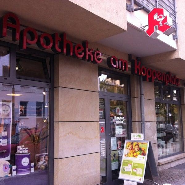Das Foto wurde bei Apotheke am Koppenplatz von DD am 10/30/2014 aufgenommen