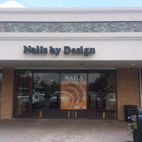 Nails By Design Northbrook Shopping Plaza 1153 Church St