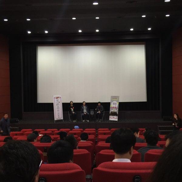 Photo taken at Seoul Art Cinema by Felix G. on 11/4/2015