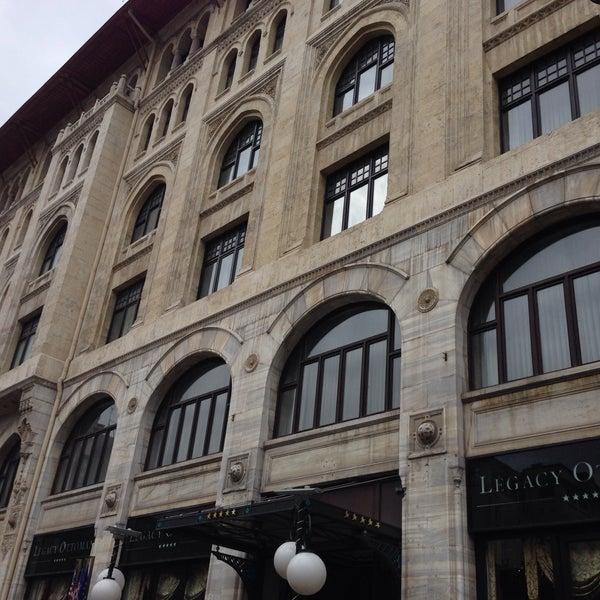 4/7/2015 tarihinde Atakan Kaan Ö.ziyaretçi tarafından Legacy Ottoman Hotel'de çekilen fotoğraf