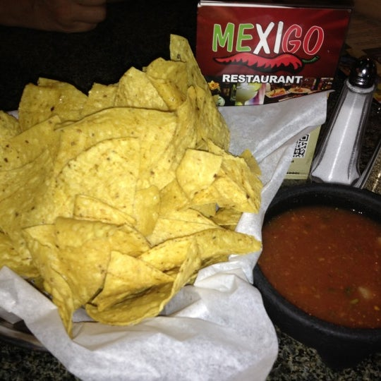 Photo taken at Mexi-Go Restaurant by Susan P. on 10/21/2012