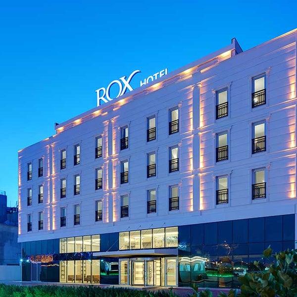 10/30/2014 tarihinde Rox Hotelziyaretçi tarafından Rox Hotel'de çekilen fotoğraf