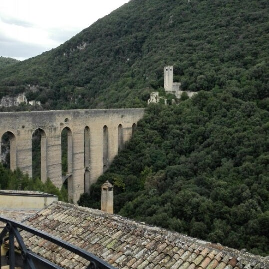 Photo taken at Ponte Delle Torri by Liliana C. on 8/15/2014