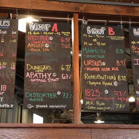 Photo taken at Greenbush Brewing Company by orbaddict on 2/10/2013