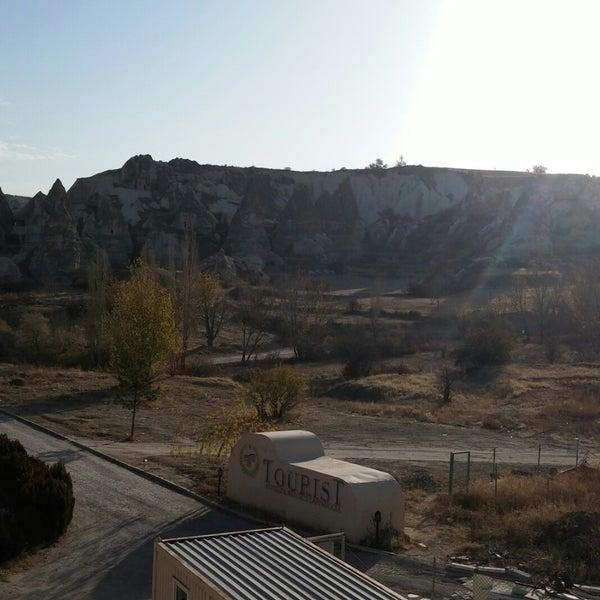 11/19/2017 tarihinde Figen ş.ziyaretçi tarafından Tourist Hotels & Resorts Cappadocia'de çekilen fotoğraf