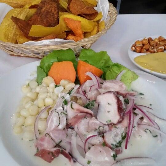 Emocionado.... de vuelta a saborear la cocina peruana....