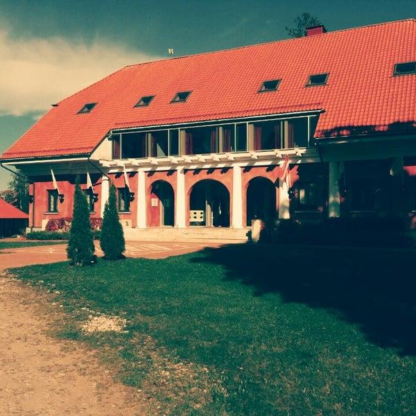 Photo taken at Annas Hotel by Evija G. on 9/14/2014