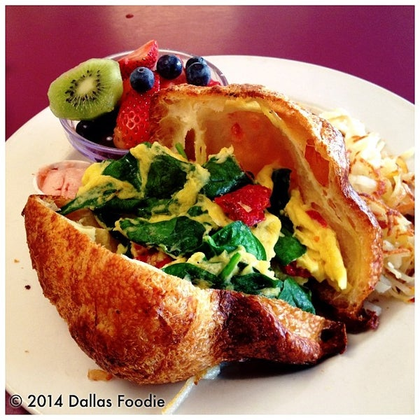 Photo taken at The Dream Cafe by Dallas Foodie (. on 1/25/2014