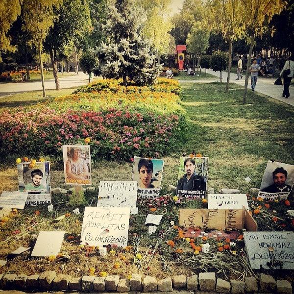 7/25/2013にDogukan Bora S.がTaksim Gezi Parkıで撮った写真