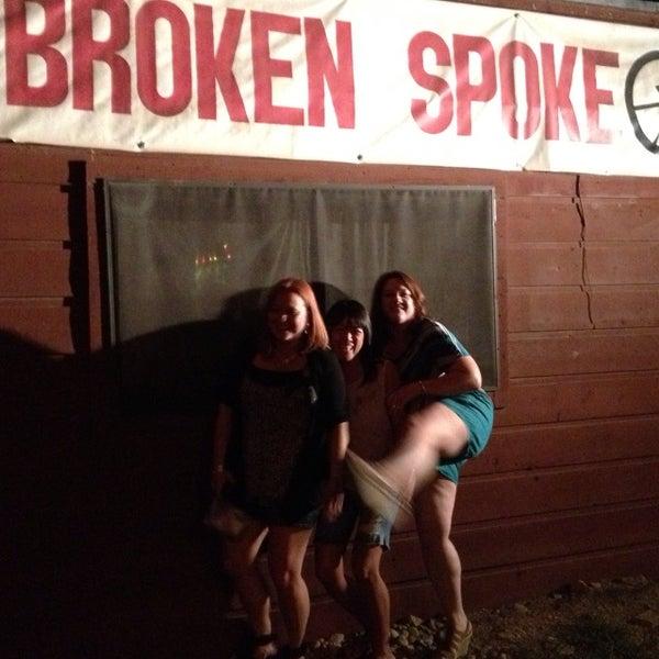 Photo taken at Broken Spoke by Mira on 9/1/2013