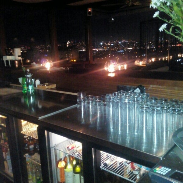 Photo taken at Georges & Bar Le Fumoir by Tekin D. on 1/15/2016