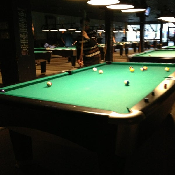 Photo taken at Pressure Billiards & Cafe by Alexander T. on 1/15/2013