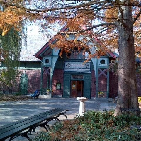 Photo taken at The Charles A. Dana Discovery Center by twocsgirl on 11/11/2012