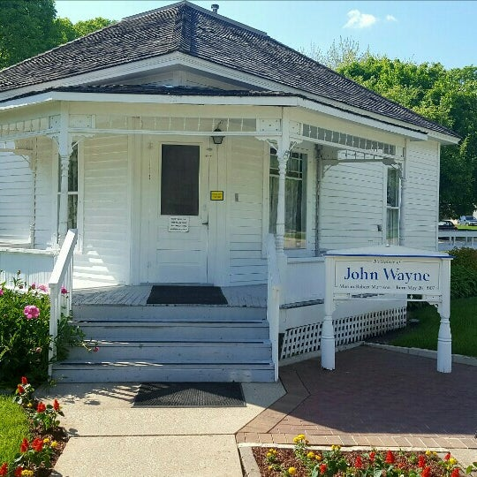 Photo taken at John Wayne Birthplace Museum by Nolan H. on 5/20/2016