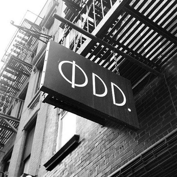 5/4/2014にKrıstófer-Þórır D.がØDD. New Yorkで撮った写真