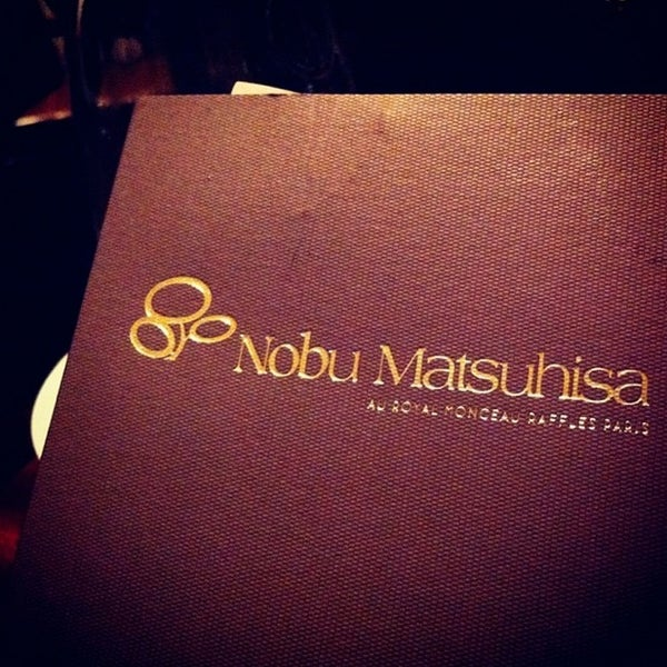 Photos at Matsuhisa Paris at Le Royal Monceau - 35-37 avenue Hoche