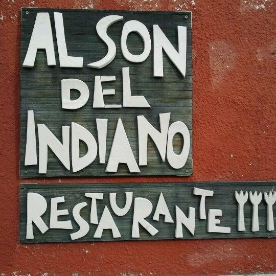 Foto tomada en Restaurante Al Son del Indiano por Mar Perez el 11/22/2012