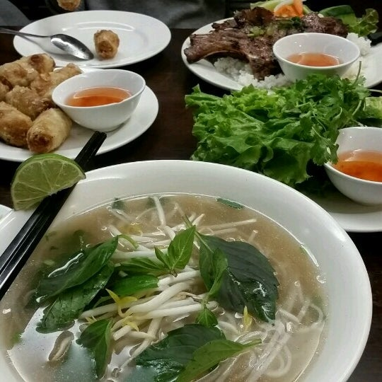 Photo taken at Pho Bac by Marina on 1/13/2017
