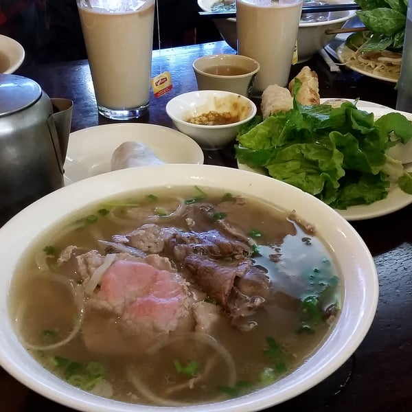 Photo taken at Pho Bac by Marina on 3/3/2017