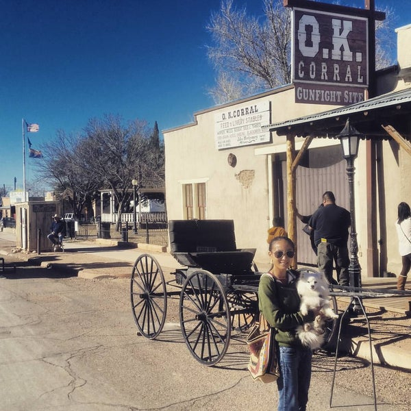 Photo taken at O.K. Corral by Caina T. on 1/31/2016