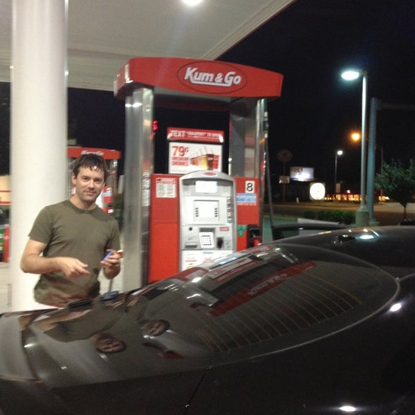 Photo taken at Kum & Go by Brian W. on 8/12/2013