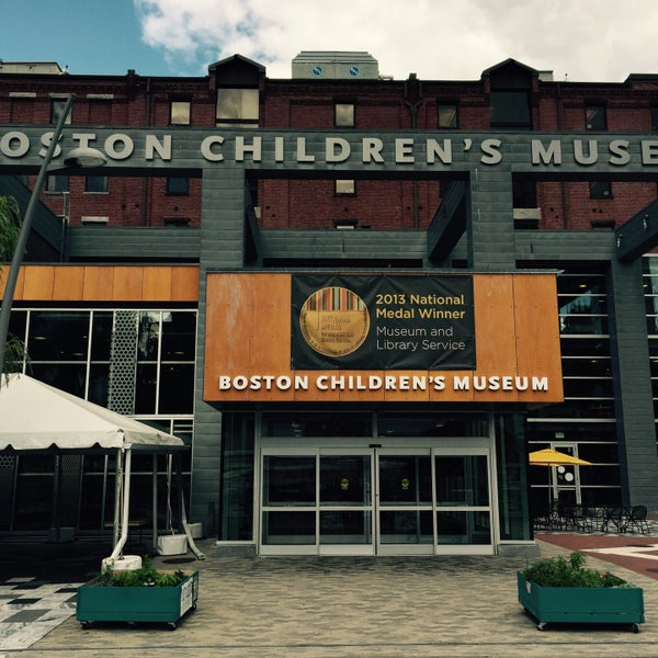 Photo taken at Boston Children's Museum by Y on 7/23/2015