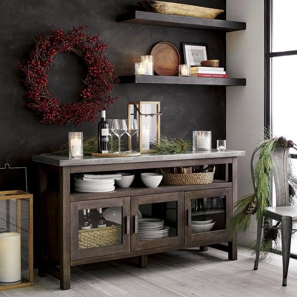 Буфет Galvin в индустриальном стиле – идеальный организатор хранения для столовой!