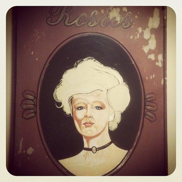 Photo taken at Rosie's Pub by Julia S. on 10/6/2012