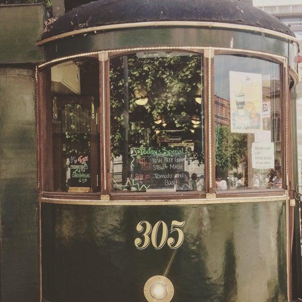 Снимок сделан в The Tram Café пользователем Spaghetti H. 6/10/2018