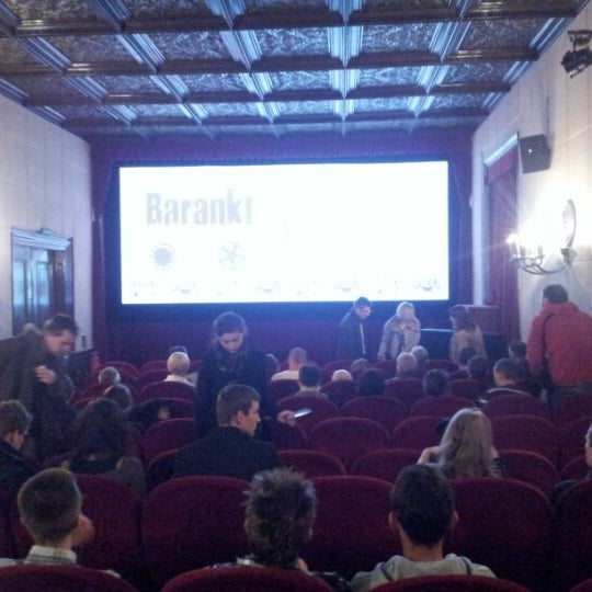 Photo taken at Kino Pod Baranami by Olek L. on 10/27/2012