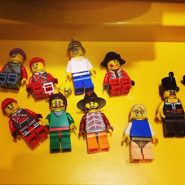 Photo taken at LEGO Store by Tom P. on 1/30/2014