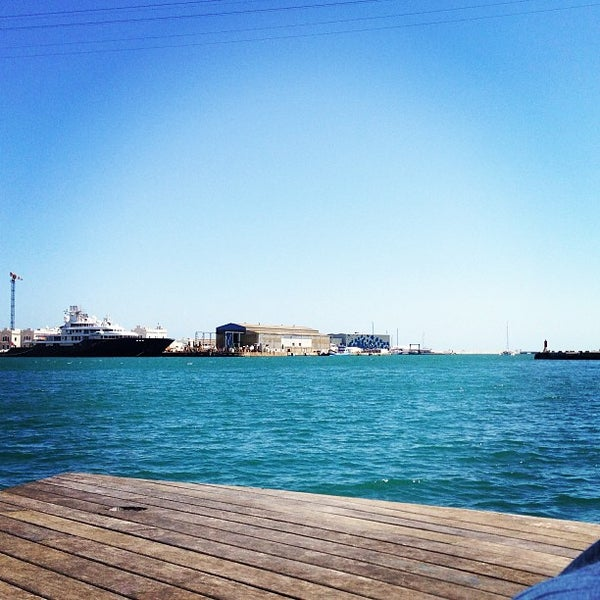 Photo taken at OneOcean Port Vell Barcelona by Tom H. on 4/30/2013