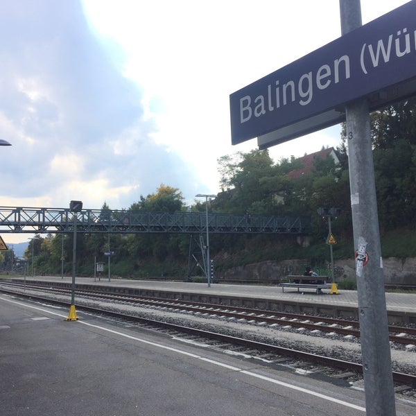 Singapore Balingen photos at bahnhof balingen württ station