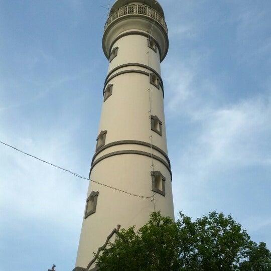 Photo taken at Masjid Jami' Kauman Pekalongan by Roni S. on 10/19/2012