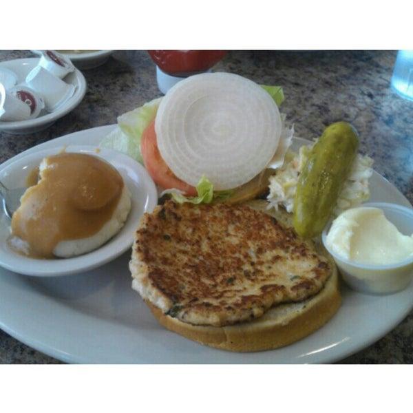 Turkey burger heaven.