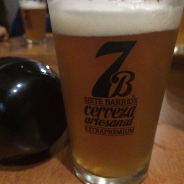 Foto tomada en Cervecería 7B por Miguel C. el 7/5/2015