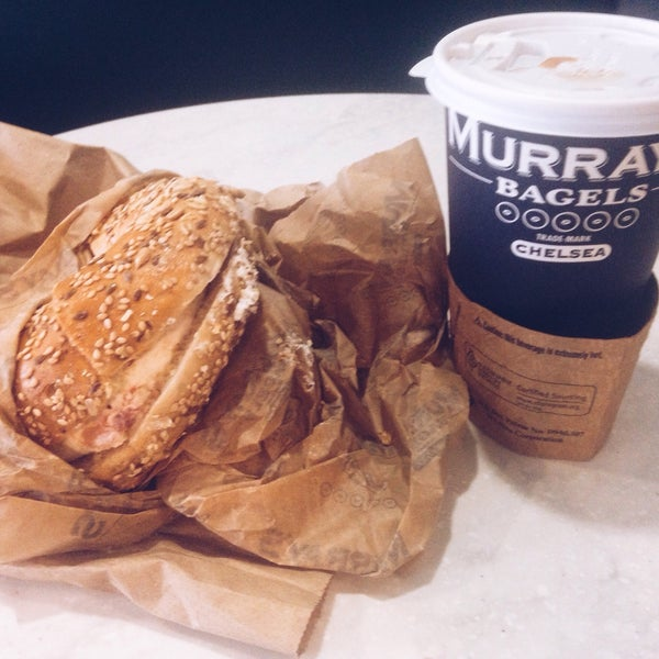 Photo taken at Murray's Bagels by Y N. on 6/28/2015