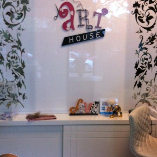 Photo taken at Art House by Ligia D. on 11/7/2012