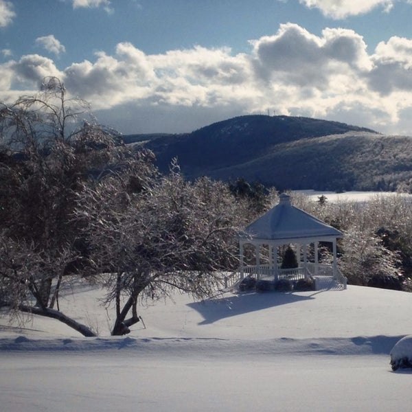 Photo taken at The Lucerne Inn by Michael A. on 1/1/2014