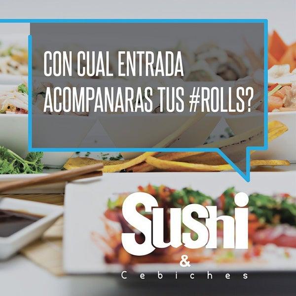 Foto tomada en Sushi & Cebiches por Sushi C. el 10/22/2014