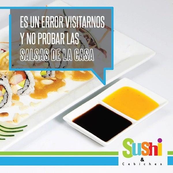 Foto tomada en Sushi & Cebiches por Sushi C. el 10/24/2014