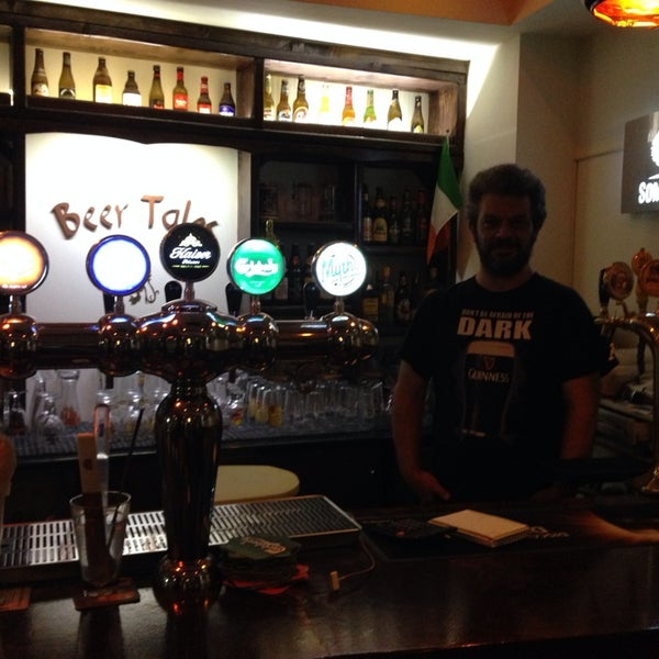 Photo taken at Beer Tales by Yiannis G. on 5/30/2014