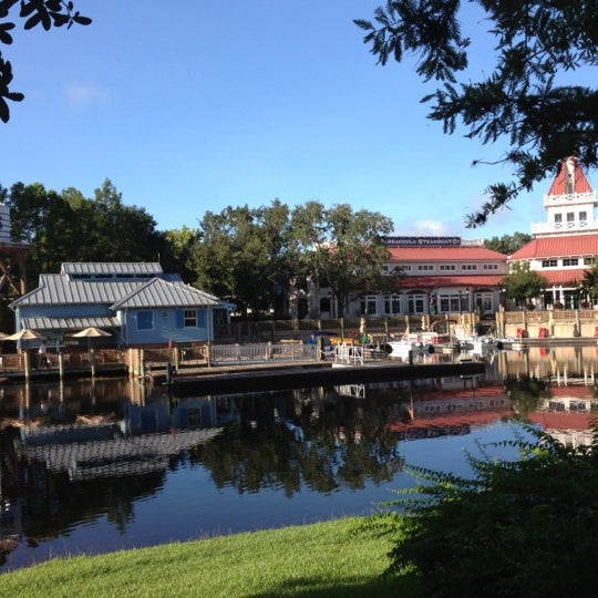 Photo taken at Disney's Port Orleans Riverside Resort by Linda M. on 8/4/2012