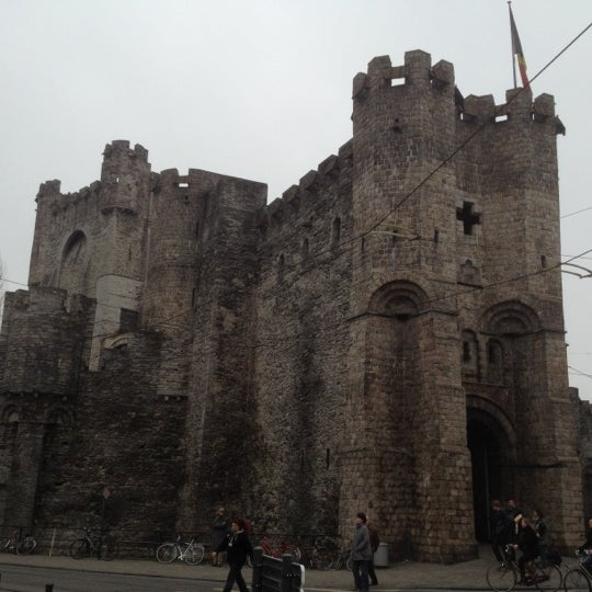 Photo taken at Castle of the Counts by r0eland on 2/26/2012