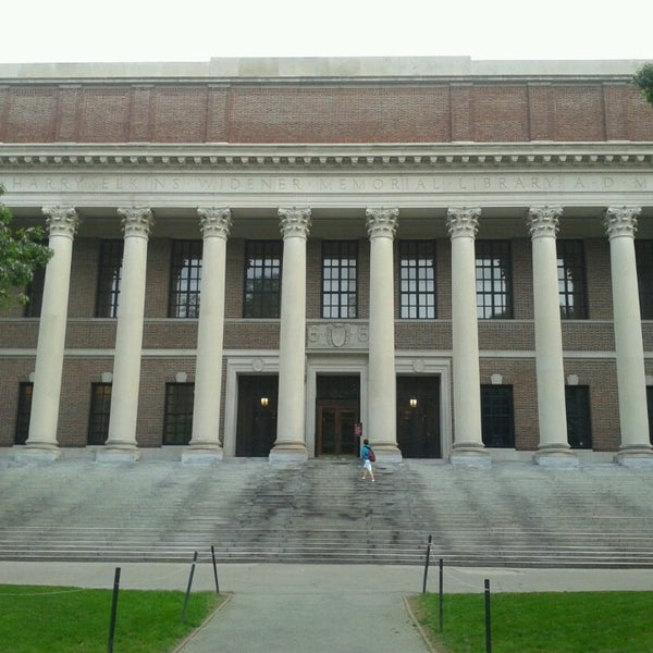 Photo taken at Widener Library by malutka on 7/9/2013