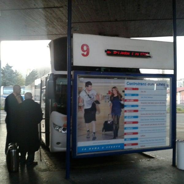 Photo taken at Autobusna stanica by Denis B. on 11/7/2014