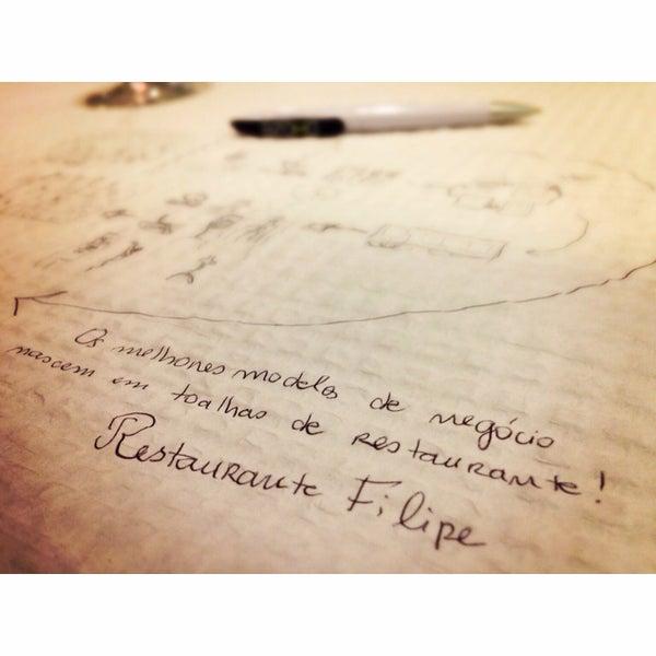 Foto tirada no(a) Restaurante Filipe por Susana F. em 1/27/2015