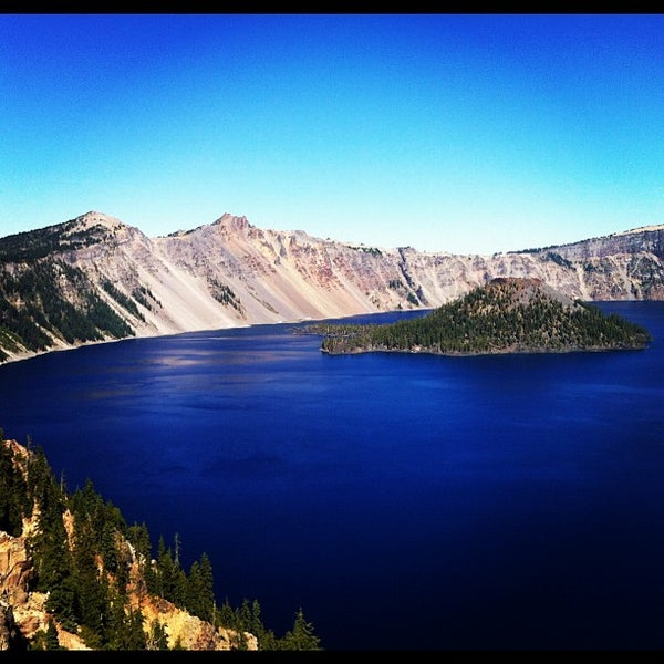 Photo taken at Crater Lake National Park by Rob B. on 9/22/2012