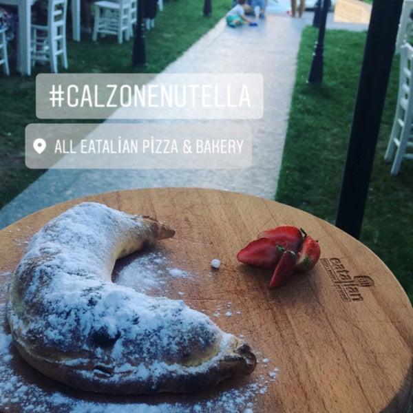 8/1/2017 tarihinde Ayt T.ziyaretçi tarafından All Eatalian ( Pizza - Bakery - Breakfast )'de çekilen fotoğraf